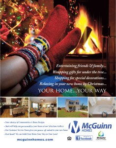 McGuinn Homes ad