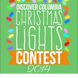 Discover Columbia's Christmas Lights Contest
