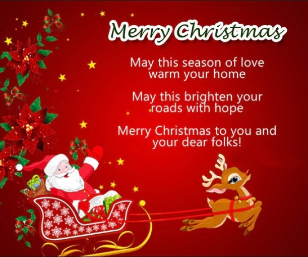55+ Merry Christmas Wishes 2019 For Friends, Family & Business