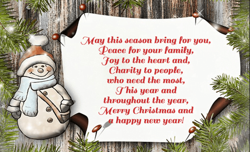Merry Christmas 2019 Messages For Card Friends Boss And