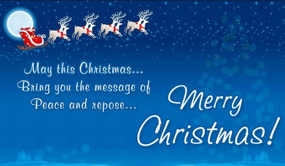 Unique Merry Christmas Status For Whatsapp Facebook
