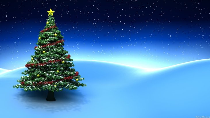 Christmas Tree Background Images