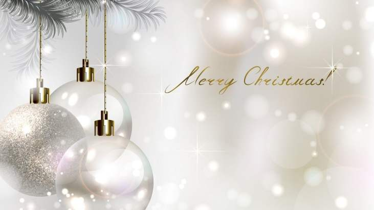 Christmas White Background