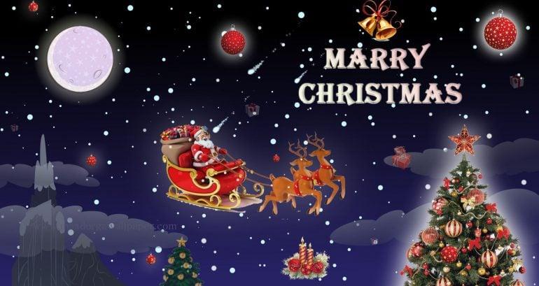 christmas full hd wallpaper