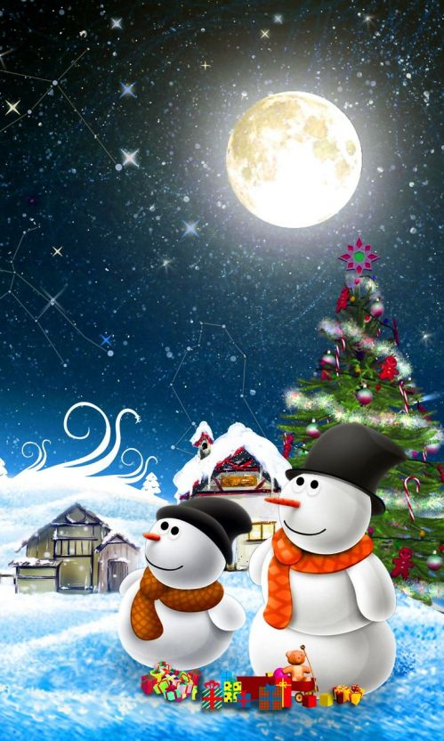 Full Hd Merry Christmas Wallpaper 2018 For Iphone Android Laptop