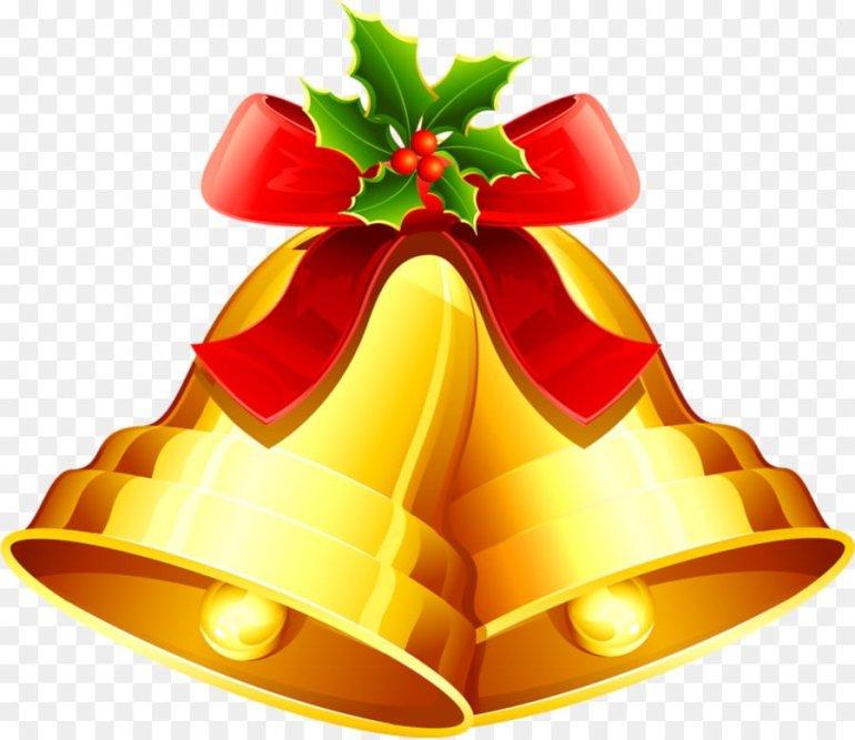 Christmas Day Bell Clip Art