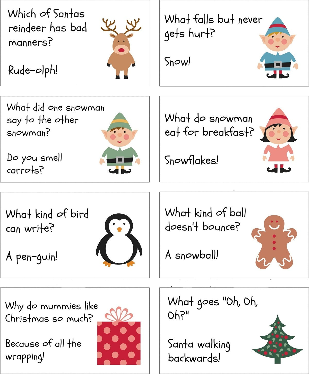 Christmas Riddles.Christmas Riddles For Scavenger Hunt Kids Adults With