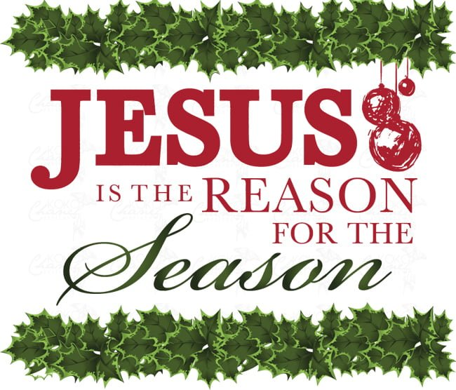 Pic Of Jesus Is The Reason For The Season