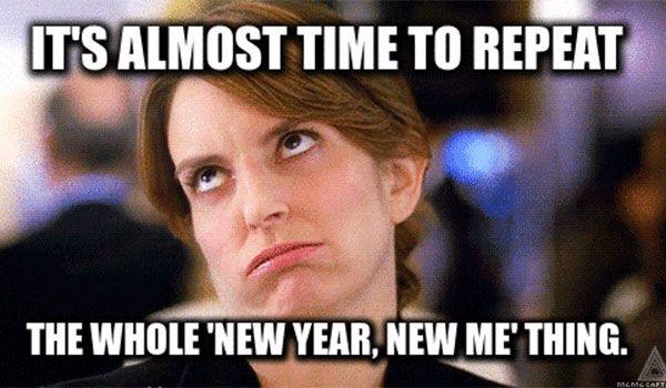New Year Evening Meme