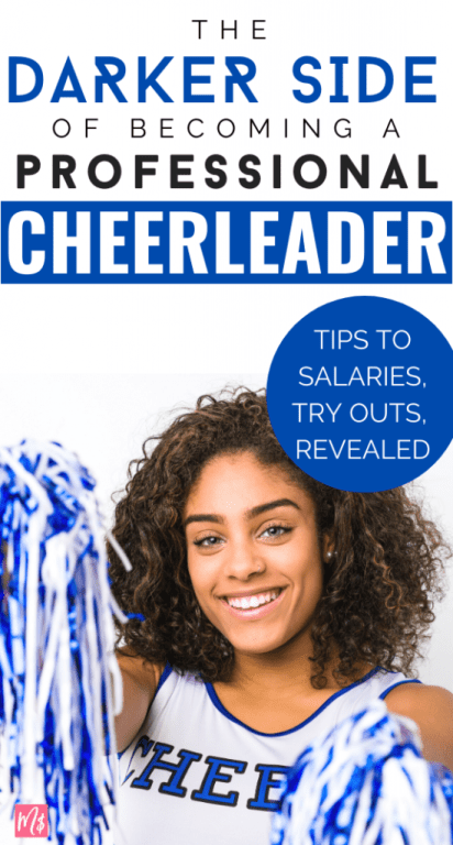 One of my bff's was a professional cheerleader for a superbowl winning NFL team. Cheerleading seems as glamorous & rigorous as any dance. But pro cheer is still a very biased career choice with huge cons, much less glamorous then the public is lead to believe. (& no, most do not end up marrying the quarterback.) - Cheerleader, #cheerleading, best tips, salary, professional cheering coach, cheerleaders, tryouts, hacks, signs, ideas, girl, DIY, football, jobs for women, careers, dance, truth meme