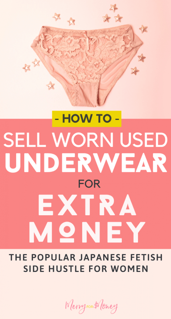 Selling Dirty Underwear Online