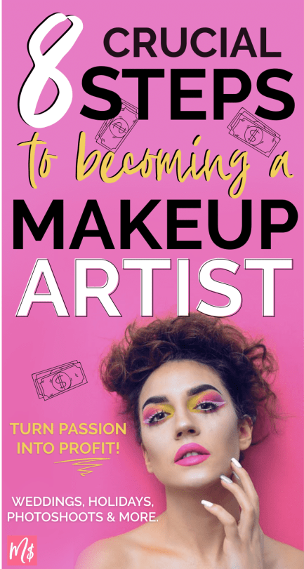 make money as a freelance makeup artist side hustle wedding makeup extra income tips and tricks for makeup artists, mua career, mua tips