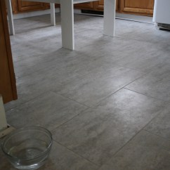 Kitchen Tile Floor Magic Grill Tips For Installing A Vinyl Merrypad