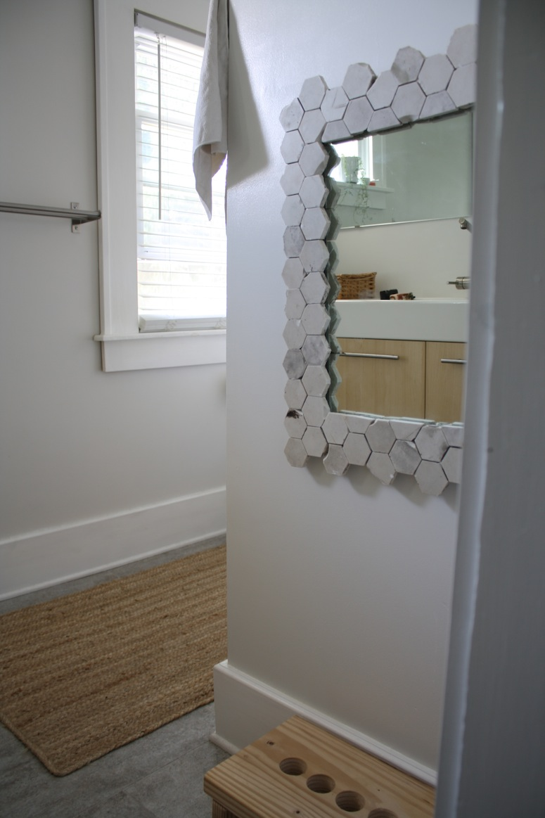 How To Make A Marble Tile Mirror Frame  merrypad