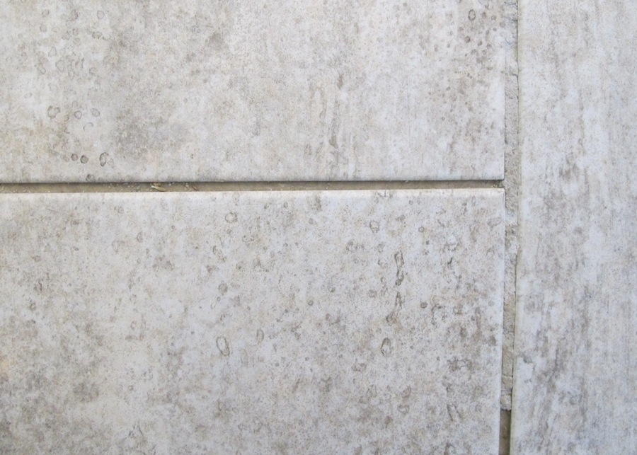 grout cracking between our vinyl