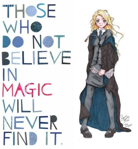Those who do not believe in magic will never find it