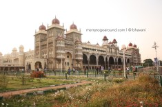 Mysore Palace - View from the front