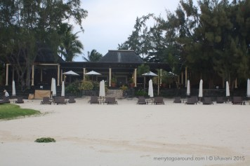 the plantation at the residence - breakfast everyday, and one dinner was served here!