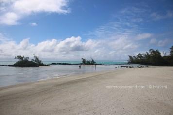 The private lagoon...