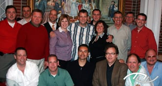Wedding Entertainment Director® Peter Merry with the attendees his November 2009 edition of The Professional Process in Richmond, VA. Click on this photo to visit The Professional Process web site.