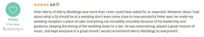 Kelsey Paprocki WeddingWire Review-Gleam