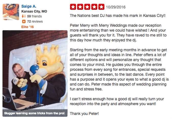 Saige A Yelp Review