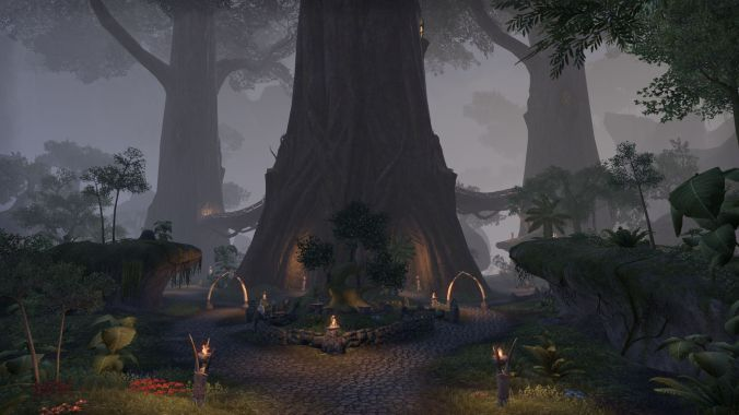 Bosmer village