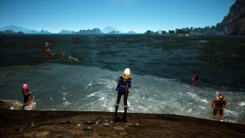 Fishing in Black Desert Online