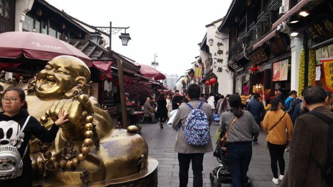 Tourist shopping street, Hangzhou