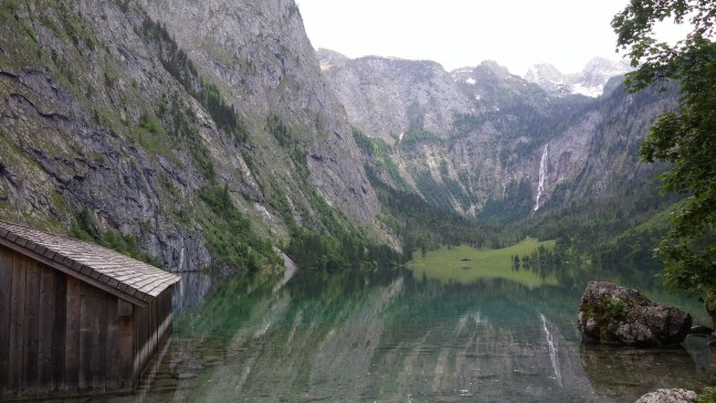 This is actually the Obersee. Also, no-one shows the crowds on photos.