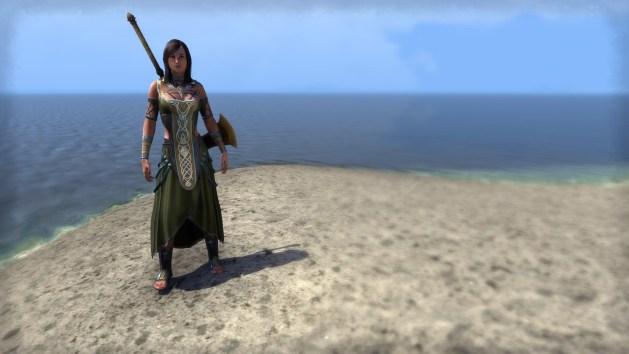 Treethane ceremonial dress