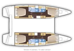 plan interieur lagoon 42