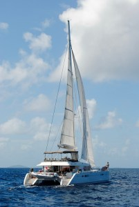 catamaran sous voiles