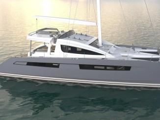 shema du catamaran privilege serie 6