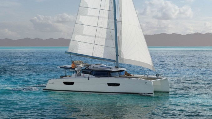 dessin fountaine pajot 47