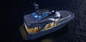 swift trawler 35 de nuit