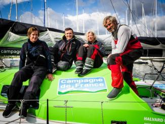 equipage class40 campagne de france
