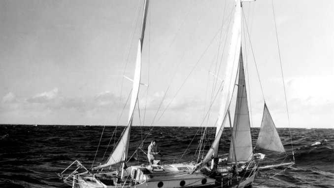 Robin Knox-Johnston sur suhaili