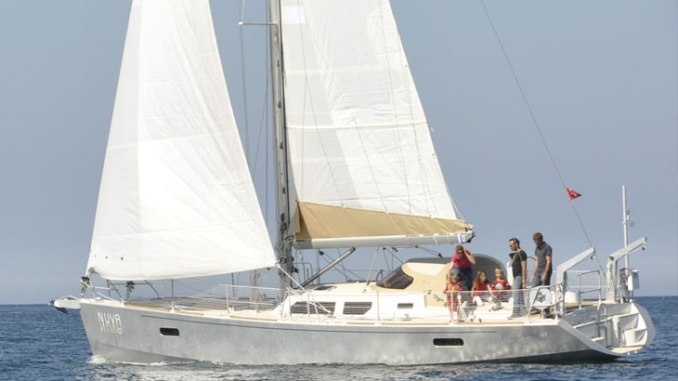 boreal 47 sous voiles