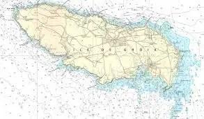 carte marine groix
