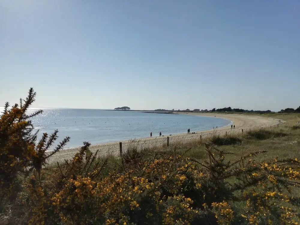 grande plage Locmariaquer