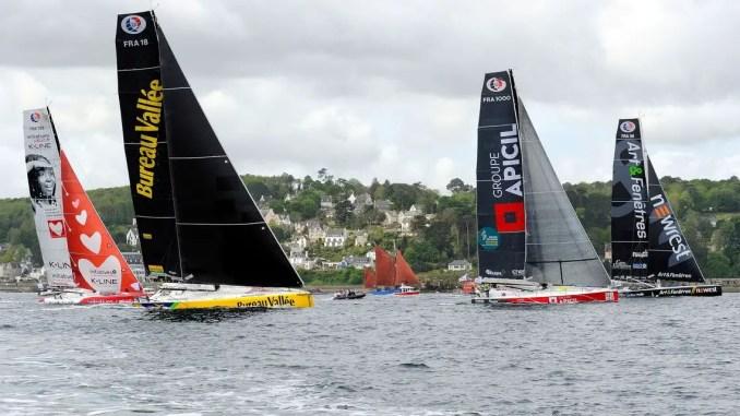 depart Bermudes 1000 race