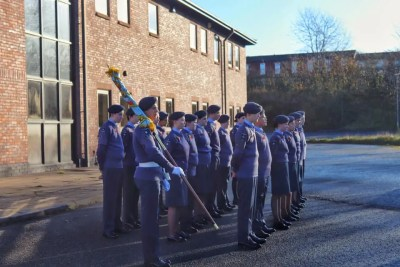 Runcorn Cadets on Parade