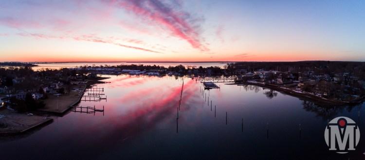 2017 - March - Drone - Wickford Harbor Sunrise (2 of 2).jpg