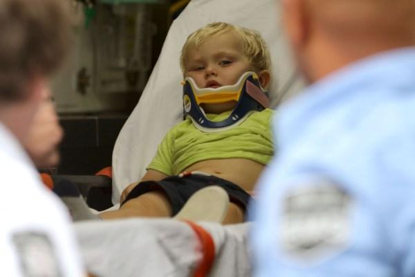 Monoky Goldman child injury central park