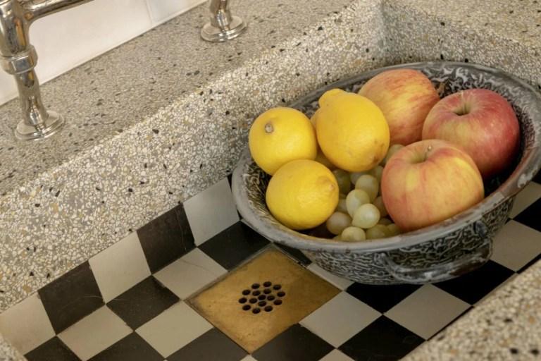 Houten keuken Hooge Zwaluwe fruit spoelbak