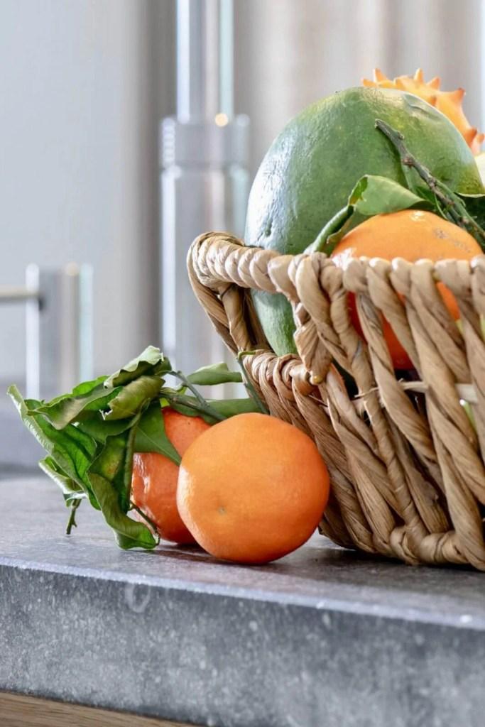 Landelijke keuken Oudenbosch fruit mand