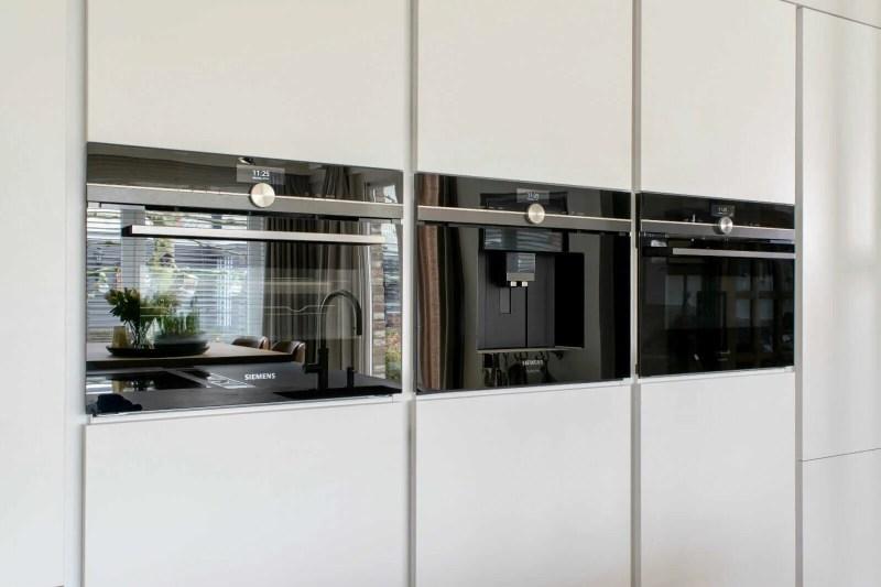Landelijke keuken Oudenbosch oven koffie