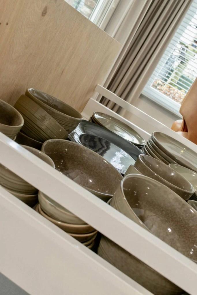 Landelijke keuken Oudenbosch servies schaaltjes