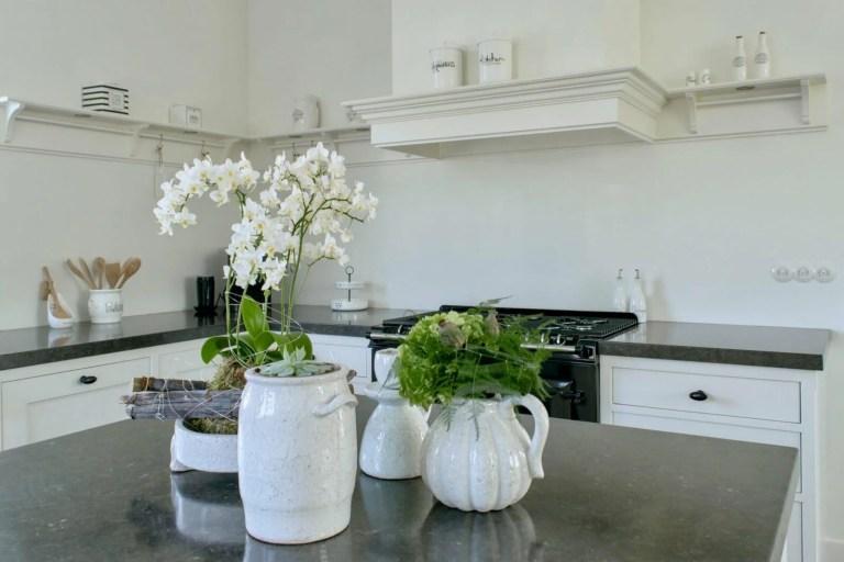 Nostalgische keuken Waddinxveen planten groen